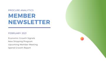 February 2021 Member Newsletter