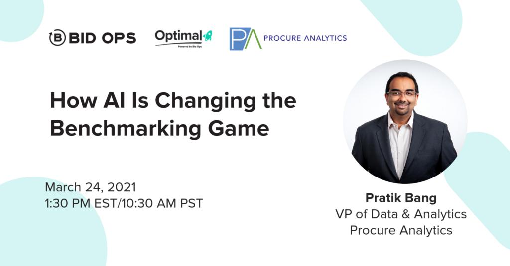 procure analytics bid ops optimal conference pratik bang