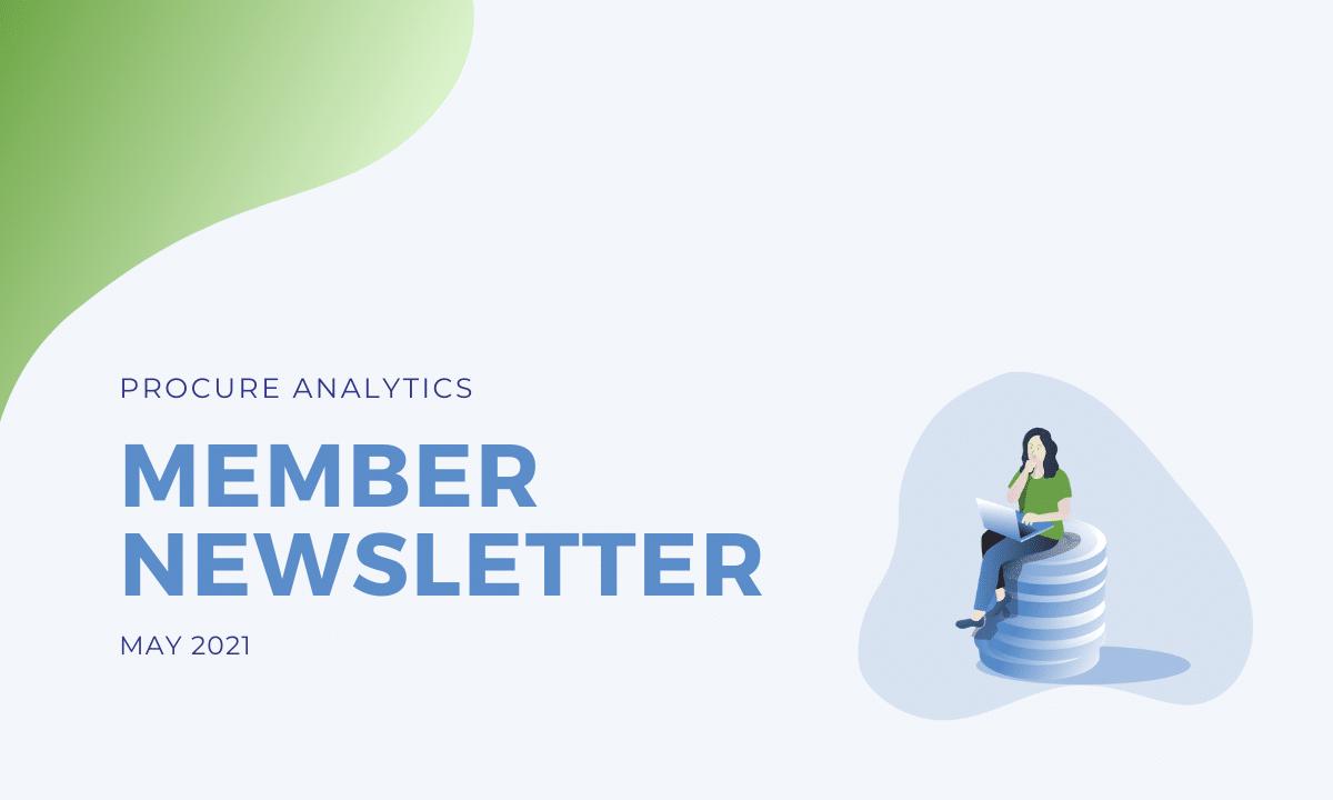 May 2021 Member Newsletter cover